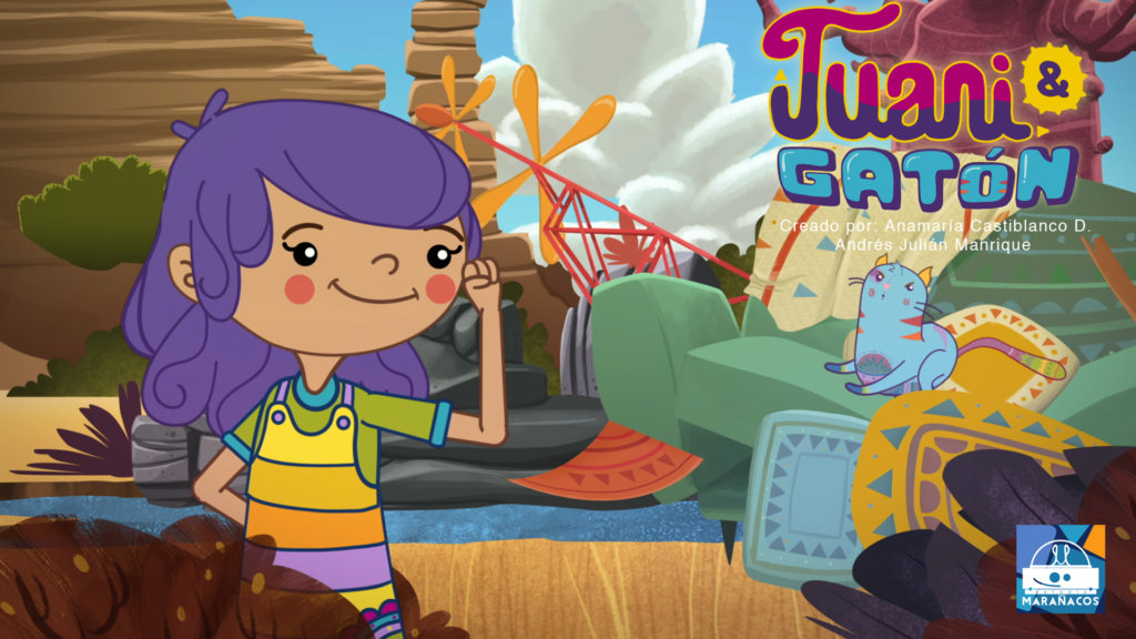 Serie infantil para ver en línea: Juani y Gatón