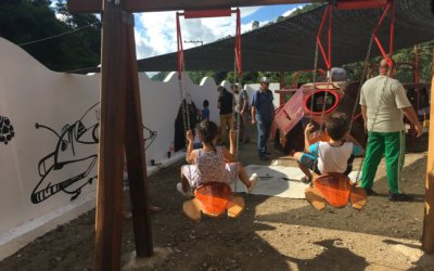 ¿Cómo se construyó el primer parque infantil en El Carmen, Norte de Santander?