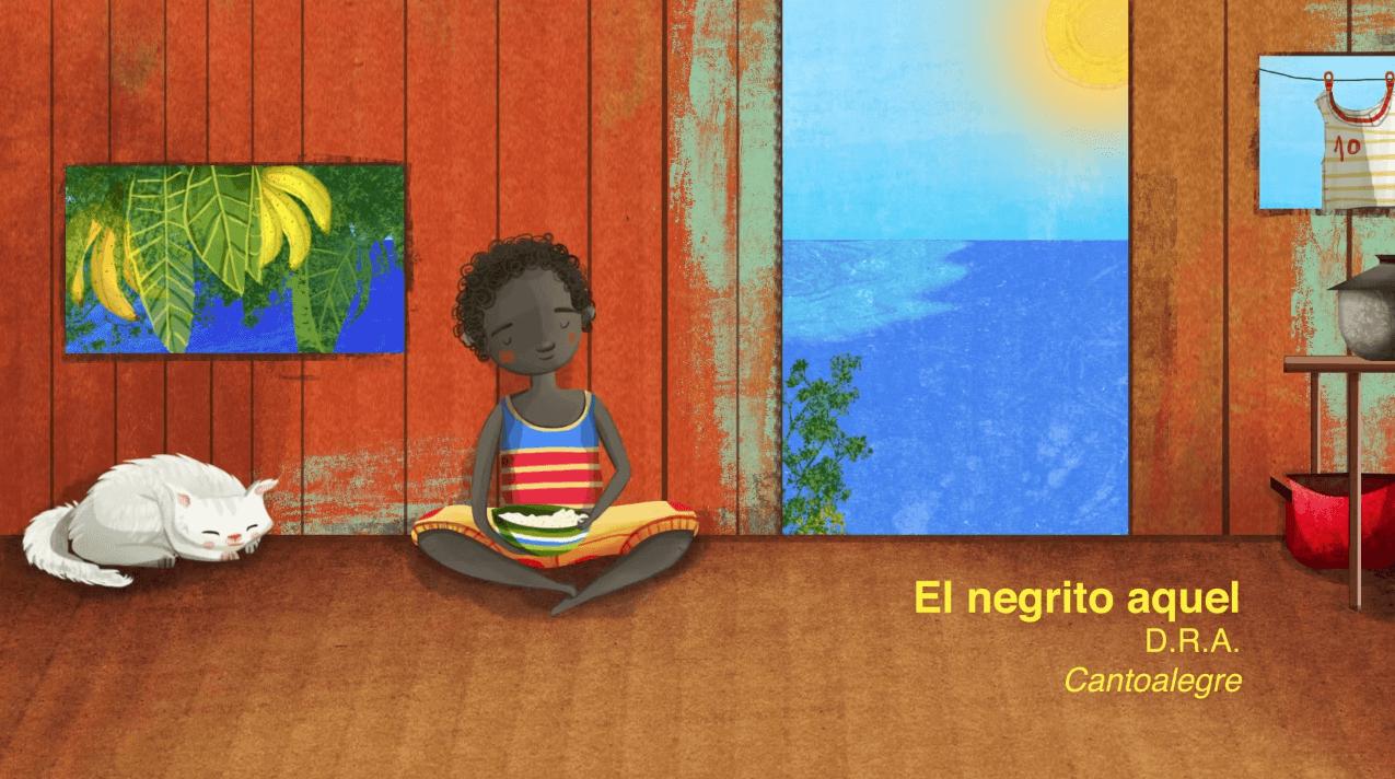 Videos de tradición afro para niños en internet