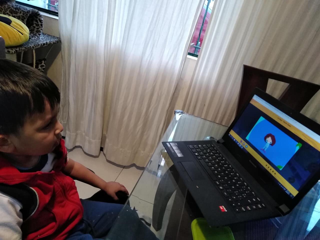 Medios digitales para niños autistas