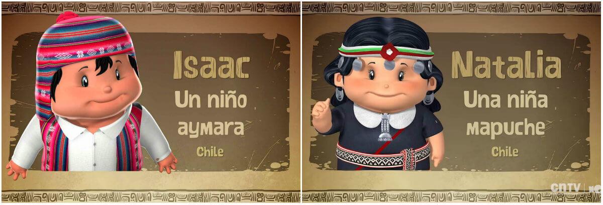 Pichintún, animación para niños diversidad pueblos indígenas