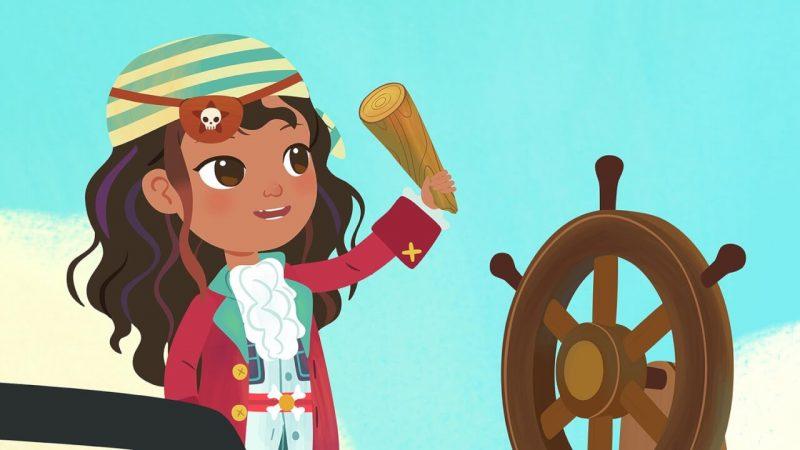 Ana Pirata, series infantiles con niñas protagonistas