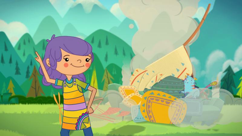 Juani y Gatón, series animadas para niñas y niños sin estereotipos