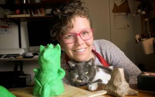 Amalia Satizábal, ilustradora y escritora con dosis extra de afecto