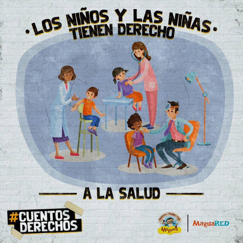 Derechos de los niños y niñas a la salud, cuentos derechos