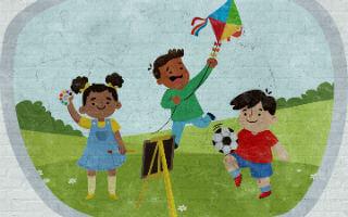 #CuentosDerechos 12: Niños y niñas tienen derecho al juego y el arte