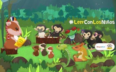 En abril todos a #LeerConLosNiños
