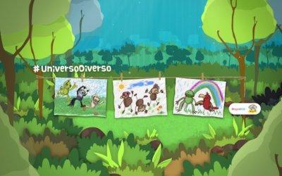 ¡Que los niños alisten los colores para dibujar su #UniversoDiverso!