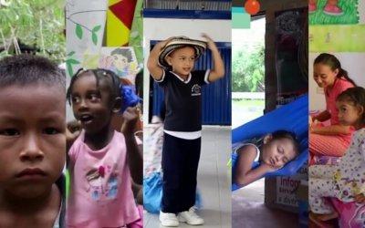 La vida de cinco niños de cinco regiones del país (con audiodescripción)