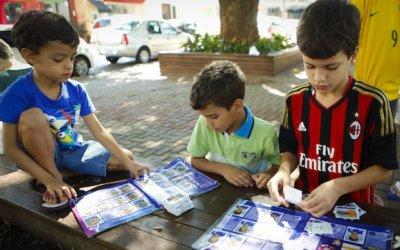 Un libro álbum llamado Mundial de Fútbol