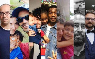 Paternidad e infancia en siete artistas (y papás)