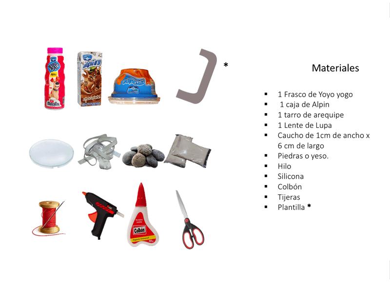Materiales microscopio