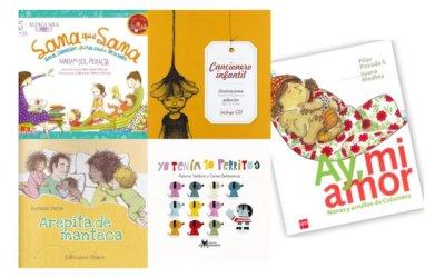 5 libros infantiles de la Colección Leer es mi Cuento para cantar