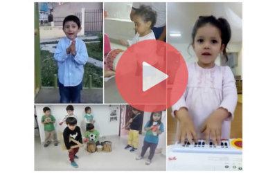 En julio les preguntamos a los niños cómo suenan sus mundos