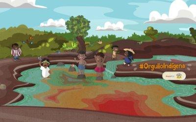 ¡A expresar con los niños nuestro orgullo por los pueblos indígenas!