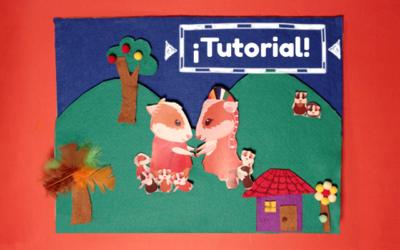 Tutorial – ¿Cómo hacer un tablero interactivo de fieltro?