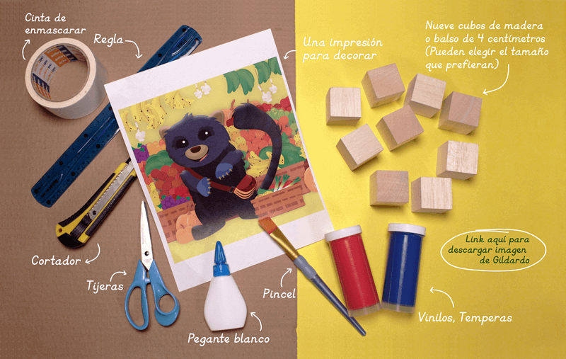 Materiales - Tutorial Rompecabezass