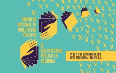 VI Congreso Nacional de Bibliotecas Públicas en Bogotá