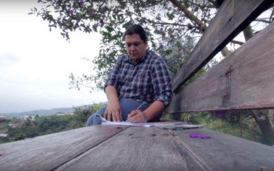 Juan Carlos Velásquez, un artista que crea espacios adecuados para los niños