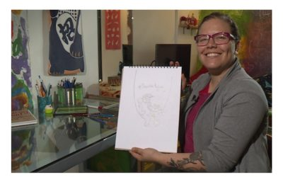 Amalia Satizábal, la ilustradora que le dio vida y color a Maguaré en La Ceiba
