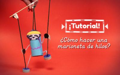 Tutorial – ¿Cómo hacer una marioneta de hilos?