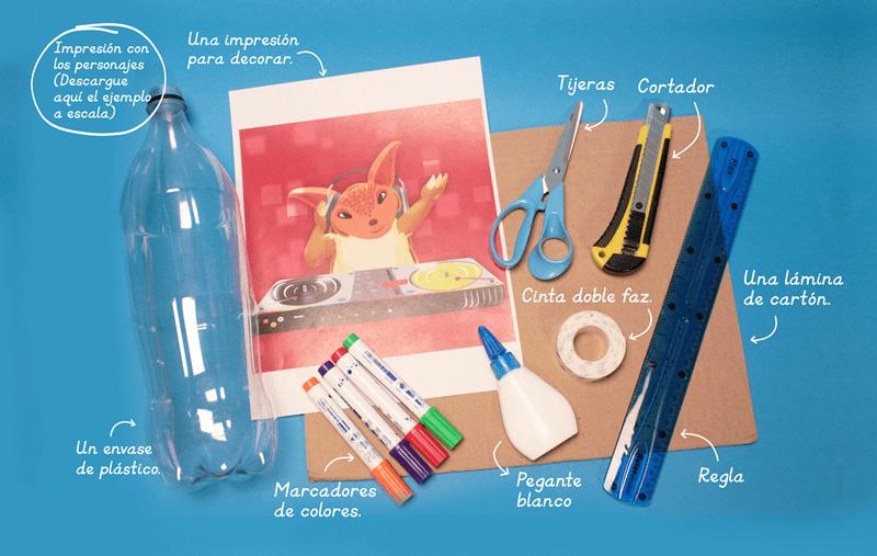 Materiales - ¿Cómo hacer un portalápices personalizado?