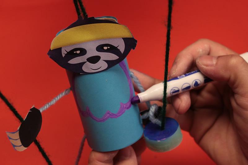Paso 18 - Tutorial ¿Cómo hacer una marioneta de hilos?