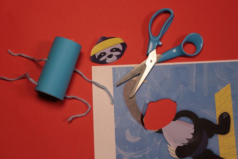 Paso 8 - Tutorial ¿Cómo hacer una marioneta de hilos?