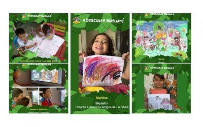 Descubrimos junto a los niños el universo de Maguaré en La Ceiba