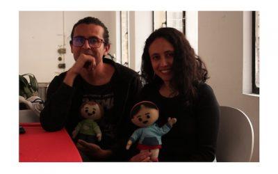 Yenny Santamaría y Diego Sánchez, creadores de Camusi Camusi