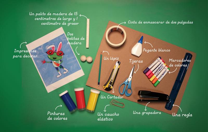 Materiales - Tutorial ¿Cómo hacer un tamborín de cartón?