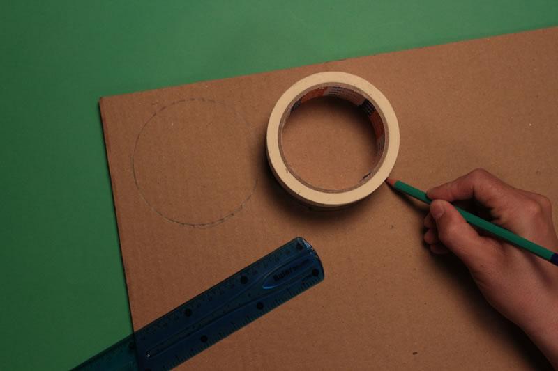 Paso 1 - Tutorial ¿Cómo hacer un tamborín de cartón?
