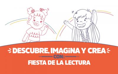¡Descubre, imagina y crea con Fiesta de la lectura!