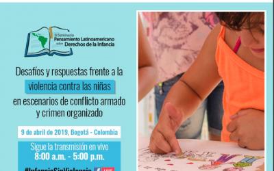 Expertos internacionales estarán en Colombia para hablar sobre violencia contra las niñas
