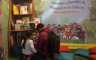 Maguaré divirtió a cientos de niños, familias y maestros en la FilBo 2019