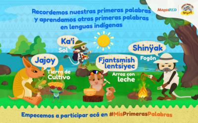 Participemos en #MisPrimerasPalabras, una #ActividadMaguarera