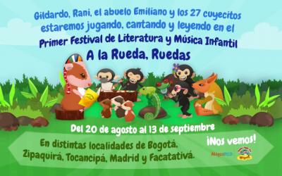 """Maguaré se une al Primer Festival de Literatura y Música Infantil """"A la Rueda, Ruedas"""""""