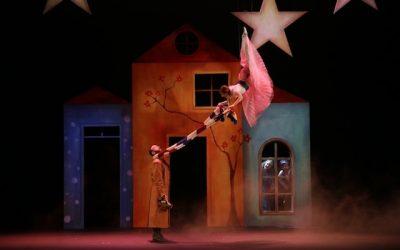 """""""La princesa ligera"""" se eleva sobre el Teatro Colón"""