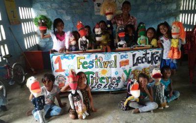 Los libros, cantos, títeres y voces de los niños se tomaron el país