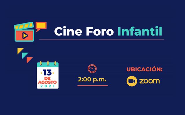 Evento en vivo – Cine Foro Infantil – ejercicio de observación de 4 cortometrajes